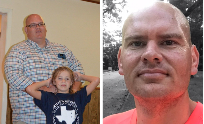 Houston Father Drops Over 100 pounds, Defeats Hypertension With New Lifestyle
