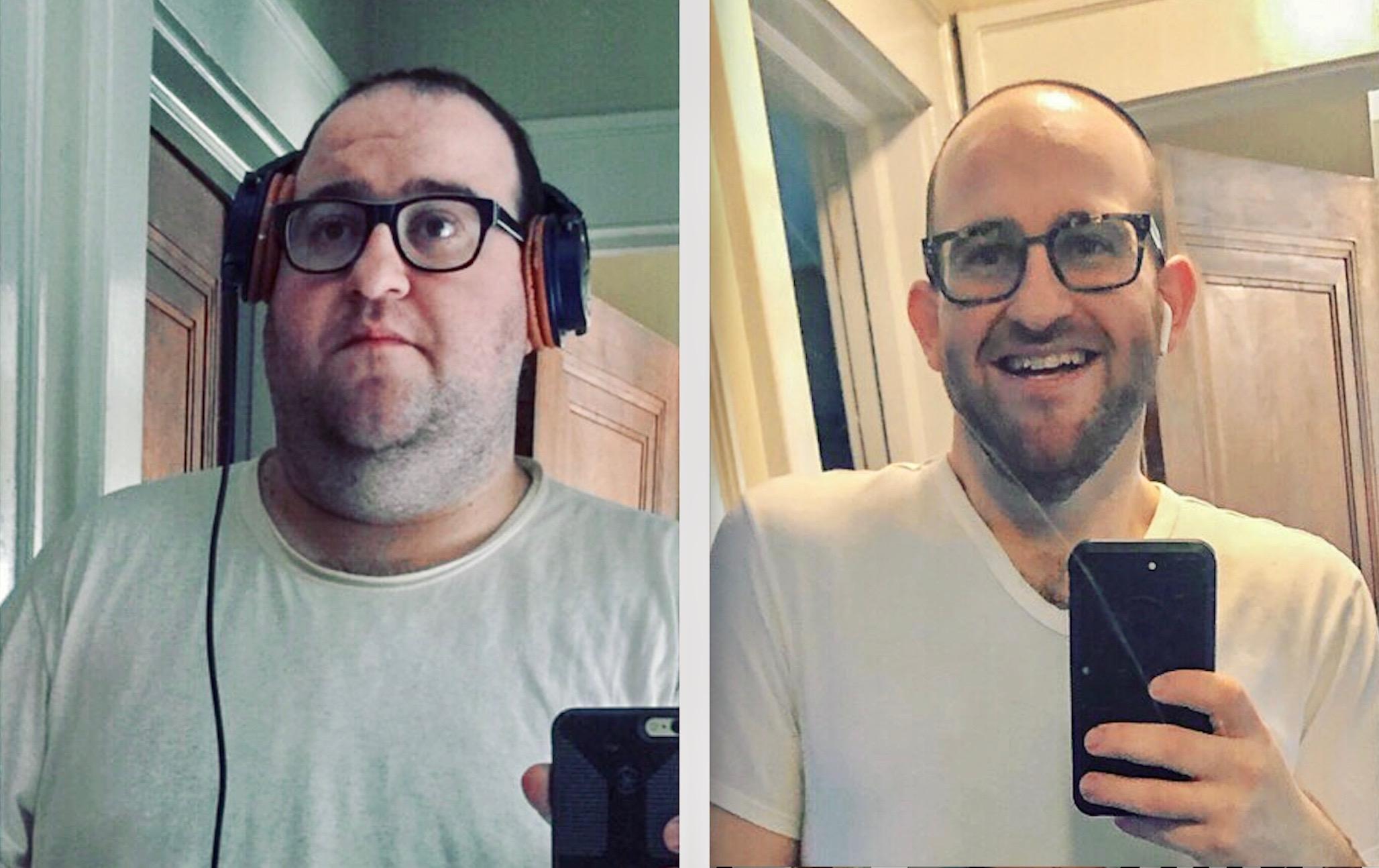Daniel Shuman Plant Based Diet Transformation