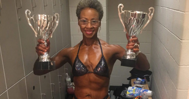 North Carolina Grandmother Sculpts Winning Lifestyle With Plant-Based Diet