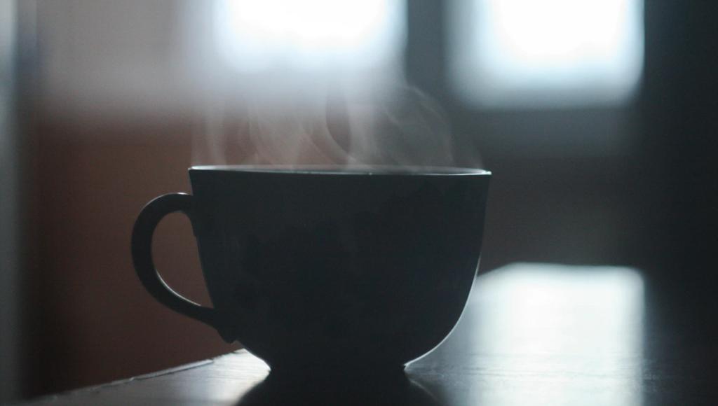 Steamy mug